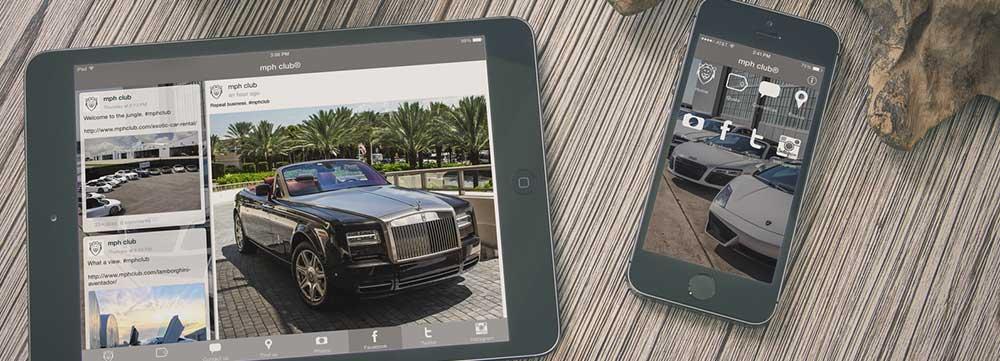 Exotic Car Rental Mobile App 2