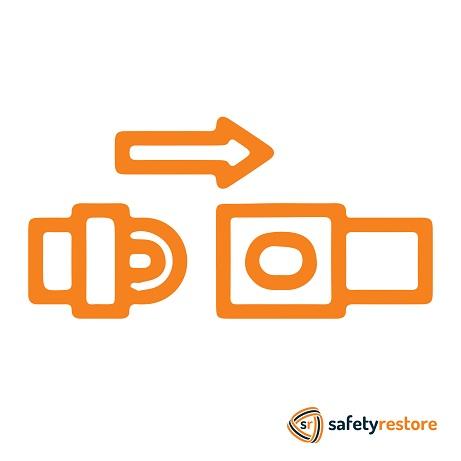 Seat belt tensioner repair